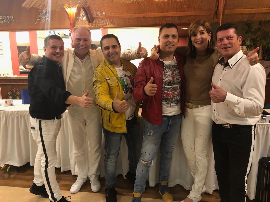 Mit den Silvanas und Salvatore e Rosario